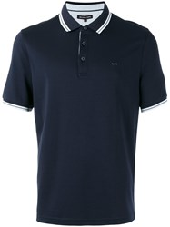 Michael Kors Manhattan Polo Shirt Blue