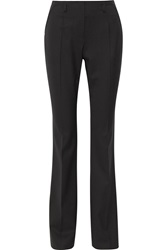 Jason Wu Stretch Wool Wide Leg Pants Black