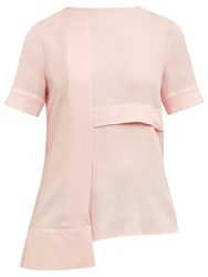 Ted Baker Colour By Numbers Izolda Panel Detail Top Pale Pink