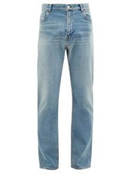 Balenciaga Slim Leg Jeans Light Blue