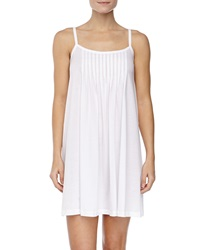 Hanro Juliet Pleated Babydoll Gown White