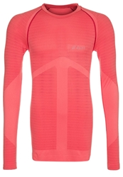 Asics Seamless Long Sleeved Top Flame Orange