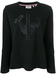 Rossignol Embroidered Rooster Sweatshirt Black
