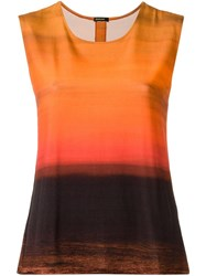 Osklen Gradient Effect Top Black