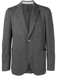 Tombolini Classic Single Breasted Blazer Grey