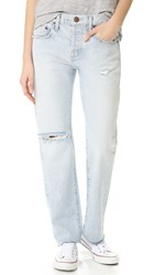 Current Elliott The Crossover Jeans Mulholland Destroy And Cut Hem