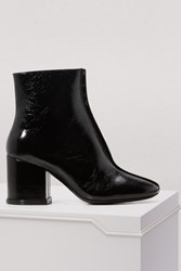 Kenzo Leather Daria Boots With Heels Naplak 99