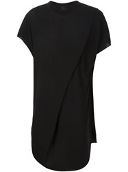 Lost And Found Folded Tunic Black