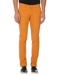 Maison Clochard Casual Pants Ocher