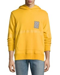 Ovadia And Sons Travis French Terry Hoodie Mustard