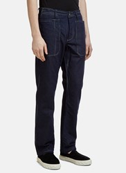 Missoni Indigo Overdyed Woven Pants Navy