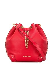 Michael Kors Alanis Shoulder Bag Red