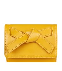 Harrods Beaumont Coin Purse Yellow