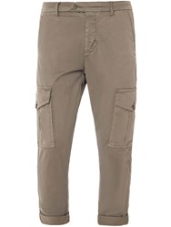 Antony Morato Men's Carrot Fit Trousers With Cargo Pockets Green