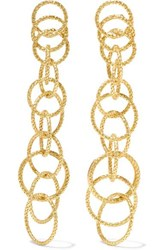 Buccellati Hawaii Honolulu 18 Karat Gold Earrings