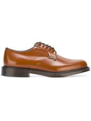 Church's Lace Up Shoes Brown