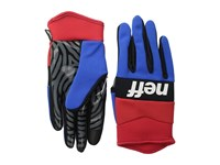 Neff Ripper Glove Red Blue Extreme Cold Weather Gloves