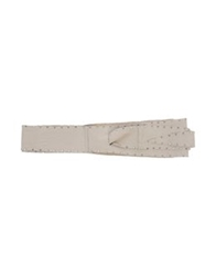 Riccardo Forconi Belts Dove Grey