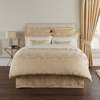 Christy Palermo Duvet Set Rich Gold