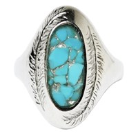 Stefanie Sheehan Jewelry Paradise Ring With Inlay Stonesterling Silver 8 Turquoise