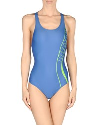 Arena Swimwear Performance Wear Women Blue