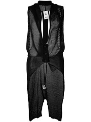Lost And Found Rooms Knitted Vest Black