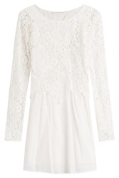 See By Chloe See By Chloe Cotton Dress With Lace White