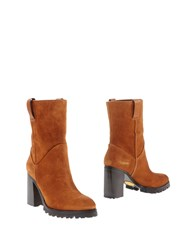 Sebastian Ankle Boots Brown
