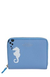 Smythson Women's Seahorse Leather Coin Pouch
