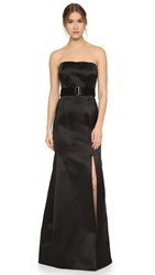 Jason Wu Strapless Gown Black