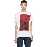 Dsquared2 White Dyed Cool Fit T Shirt