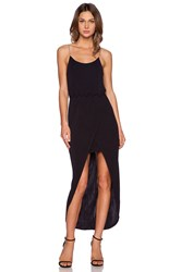 Autograph Addison Fendela Maxi Dress Black