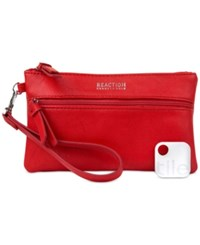 Kenneth Cole Reaction Forget Me Not Tech Wristlet With Tracker Flame