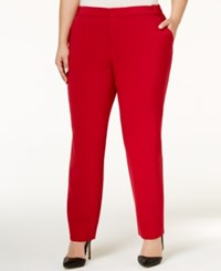 Rachel Roy Trendy Plus Size Skinny Pants Ruby