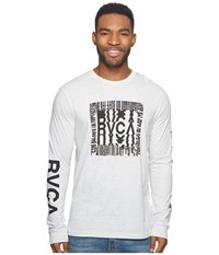 Rvca Disrupt Tee Snow Marle Men's T Shirt White