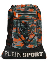 Plein Sport Drawstring Backpack