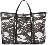 Pierre Hardy Black And White Canvas Polycube Tote