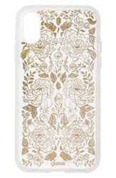 Sonix Secret Garden Print Iphone X Case Metallic Clear Multi