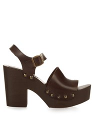 Max Mara Curzio Sandals Brown Multi