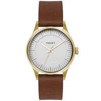 Tsovet Jpt Co36 Gold Beige And Dark Brown