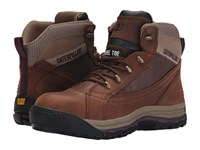 Caterpillar Champ Mid St Brown Sugar Women's Work Boots