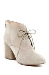 French Connection Dinah Lace Up Bootie Red