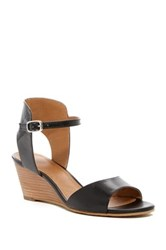 14Th And Union Tansie Wedge Sandal Black
