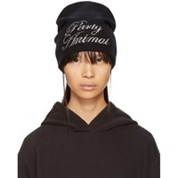 Alexander Wang Black 'Party Animal' Beanie