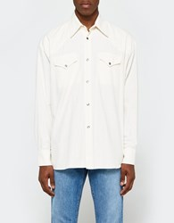 Our Legacy Ranch Shirt White Chambray