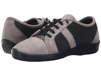Arcopedico Leta Black Grey Women's Lace Up Casual Shoes