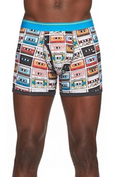 The Rail 'Cassette Tape' Boxer Briefs Multi
