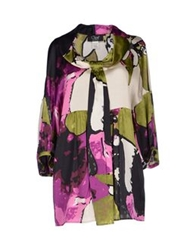 Clips Blouses Military Green