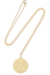 Andrea Fohrman Full Moon Phase 14 Karat Gold