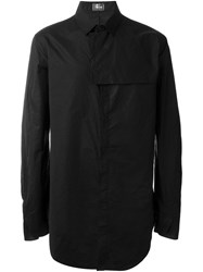 Lost And Found Ria Dunn Oversized Plain Shirt Black